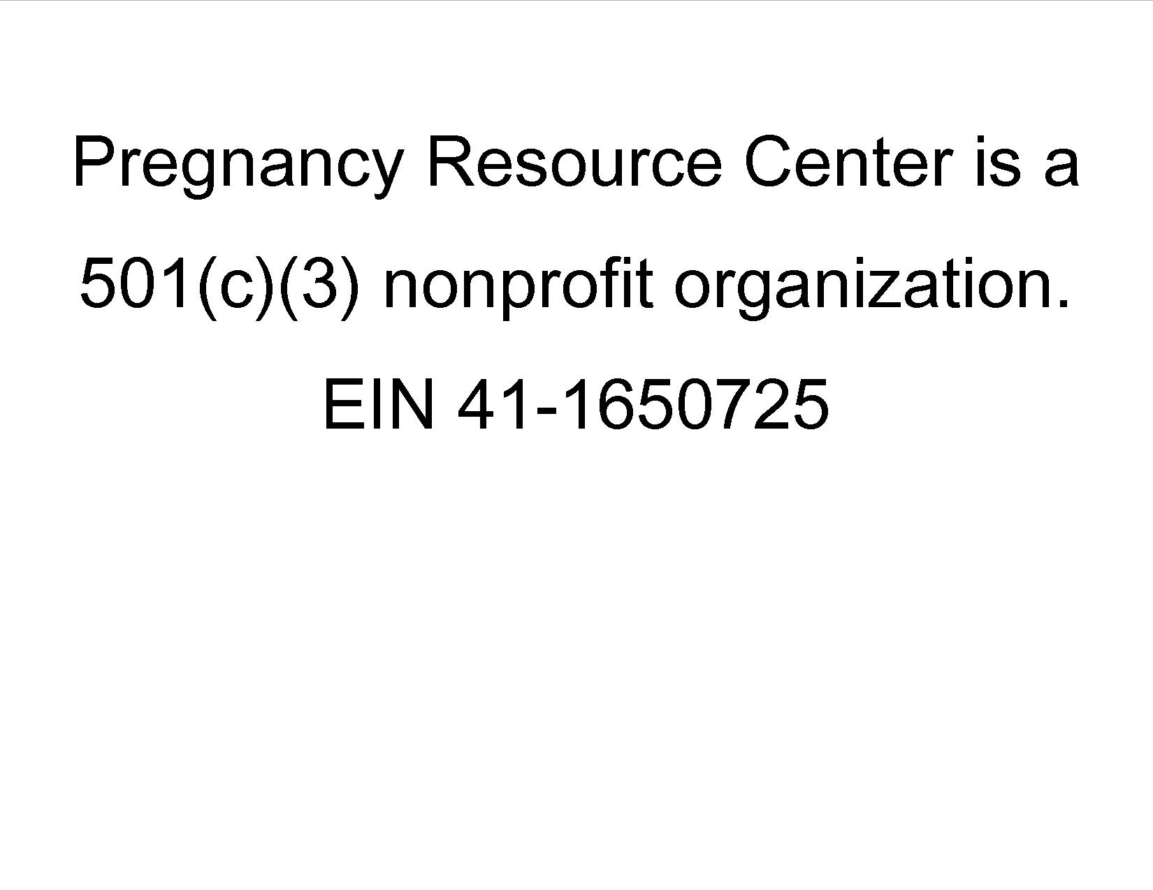 Non profit statement for egiving page