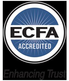 Ecfa accredited color and tagline small
