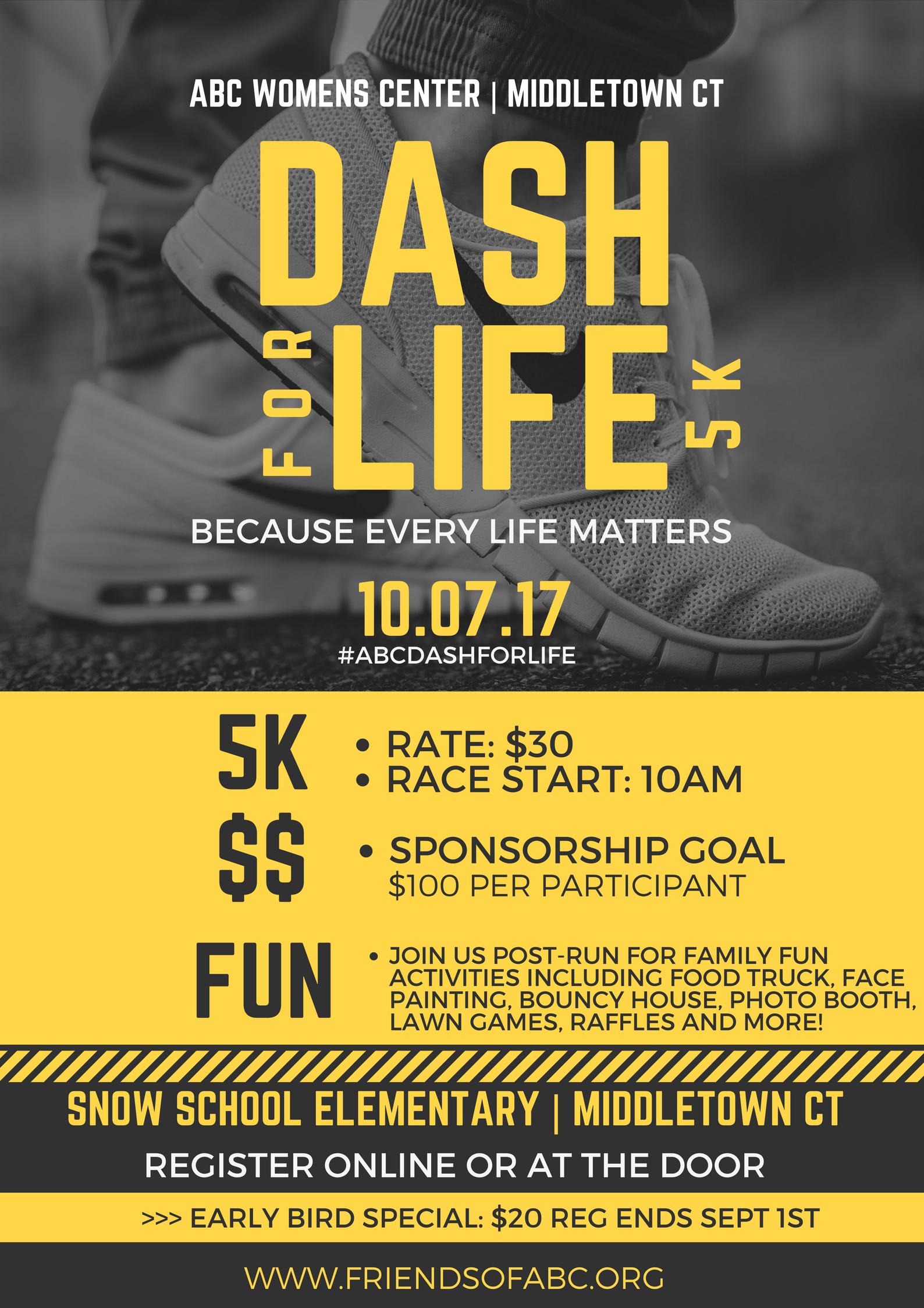 Dash 2017 flyer