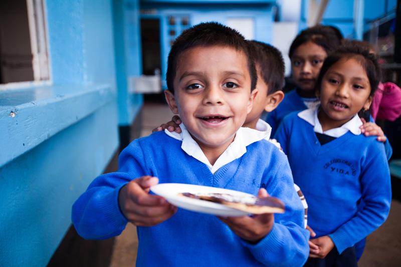 Kids eating 2