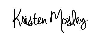 Kristen mosley signature