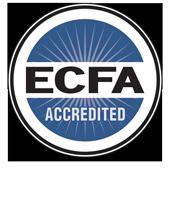 Ecfa accredited with tagline