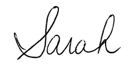Sarahsignature
