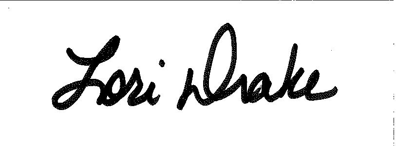 Lori drake signature