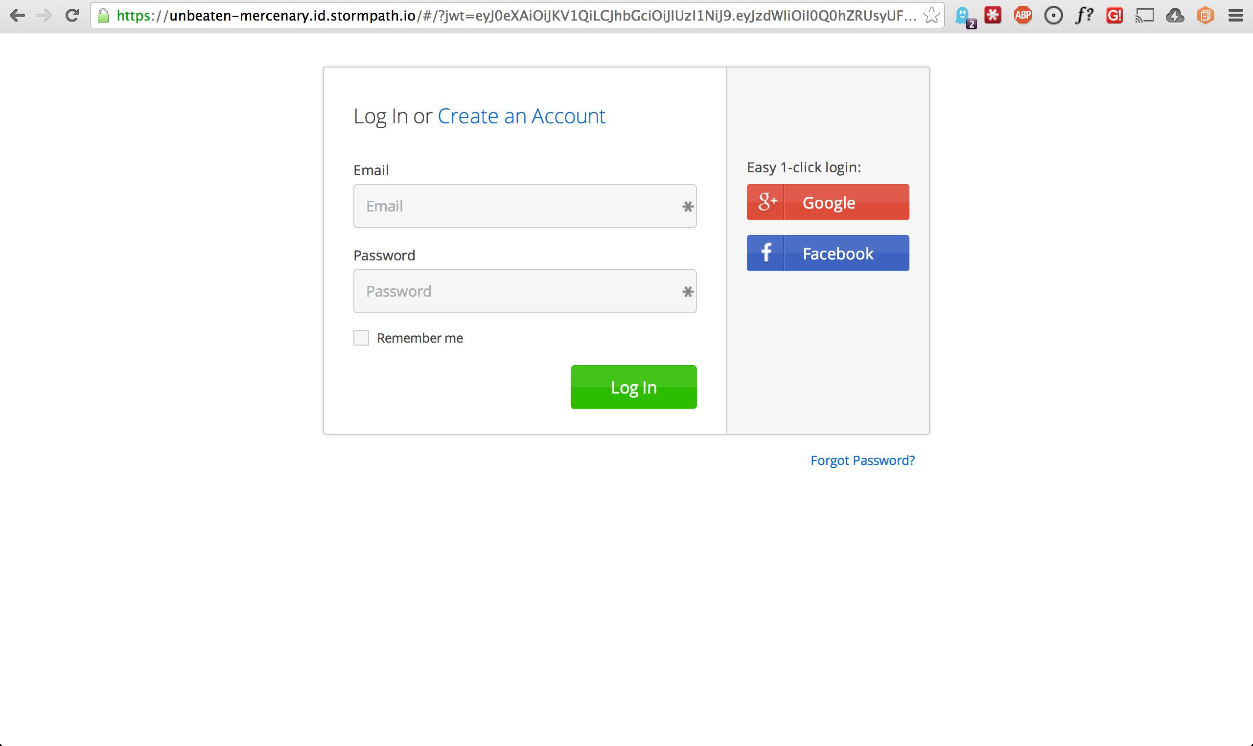 ID Site Login