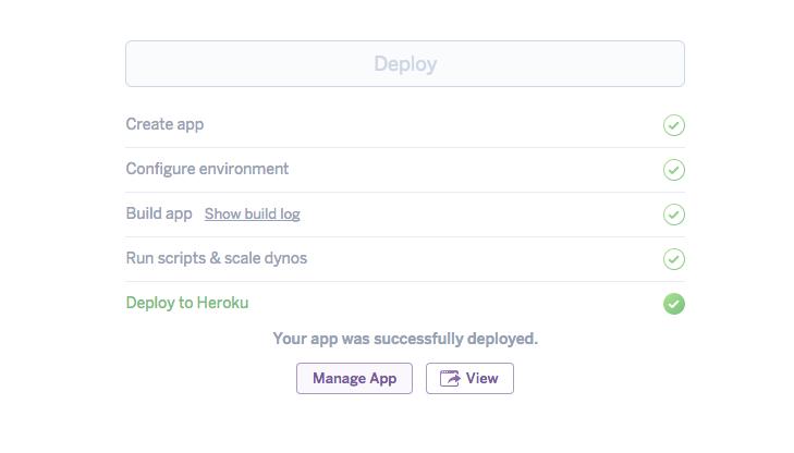 App deployed
