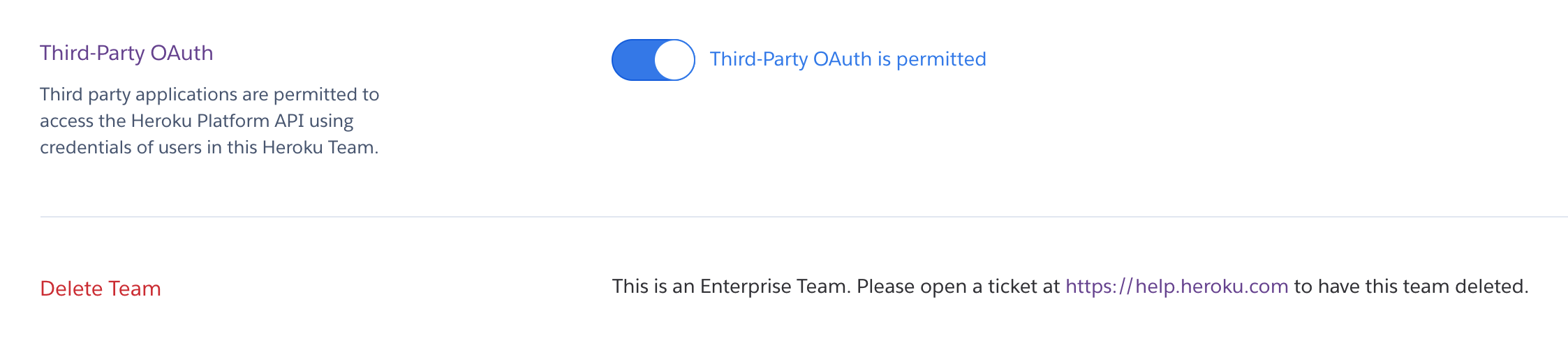 Limiting access to apps via OAuth