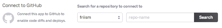 Enable GitHub sync