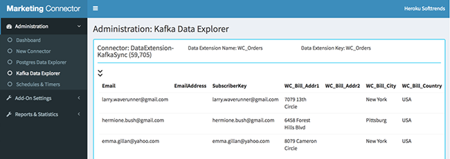 View Kafka Explorer