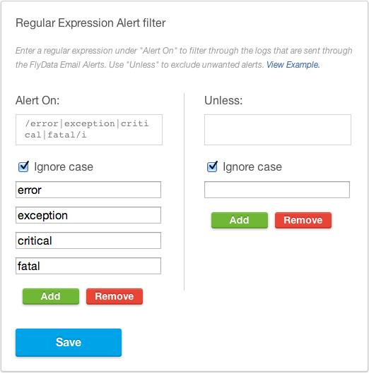FlyData Email Regex