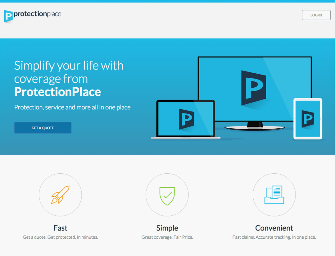 ProtectionPlace Homepage