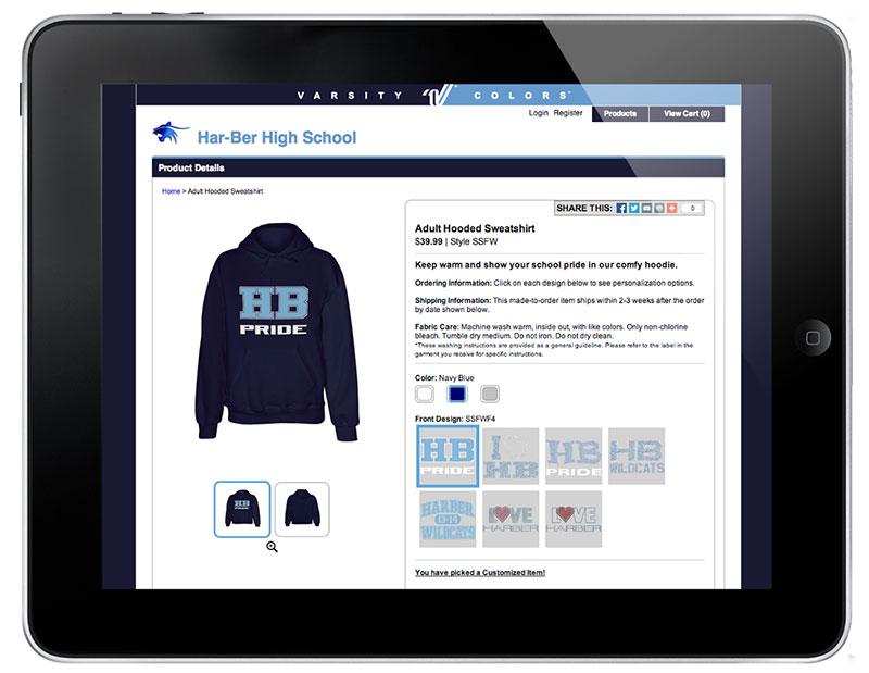 Varsity iPad