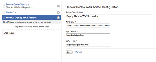 Configuring WAR Deployment