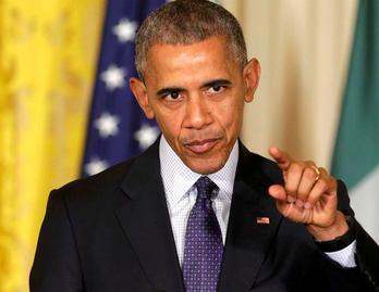 오바마, '폭력범죄ㆍ불법이민 증가' 트럼프 주장 반박
