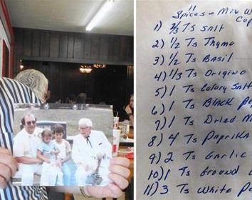 'KFC 치킨 비밀은 흰 후추' 76년 베일속 조리법 유출 논란
