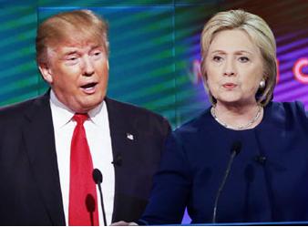 美대선 TV토론 '결전의 날' 밝았다, '힐러리 vs 트럼프' 승자는