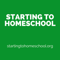 Starting to Homeschool