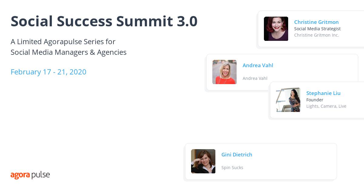 Social Success Summit 3.0