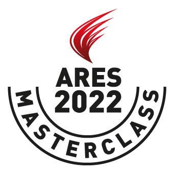 ARES 2022 Masterclasses