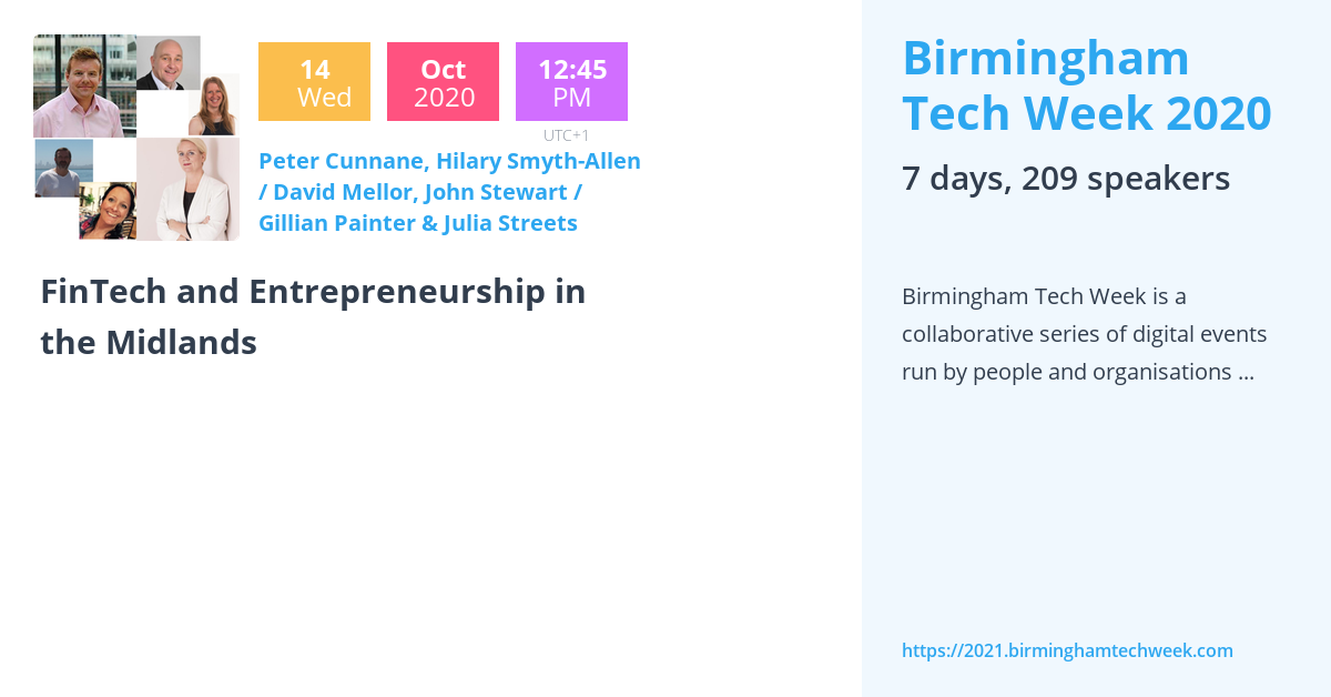 FinTech and Entrepreneurship in the Midlands