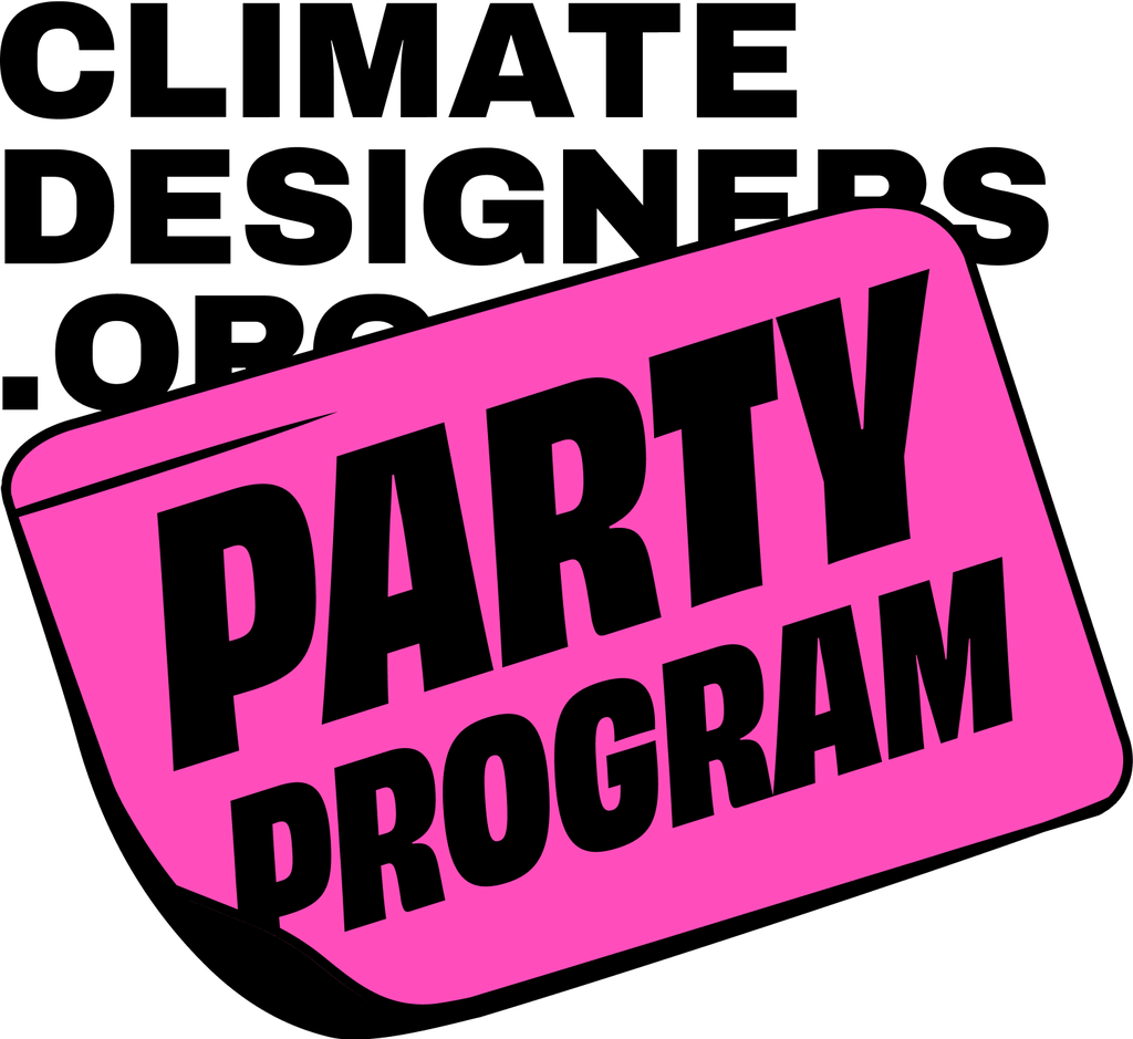 Climate Designers Party Program