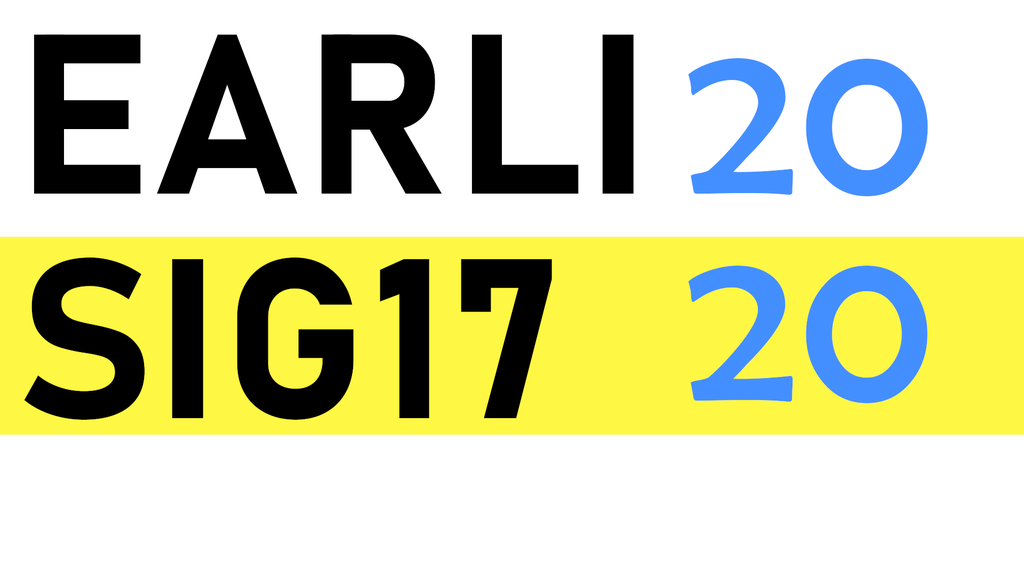 EARLI SIG17 Conference