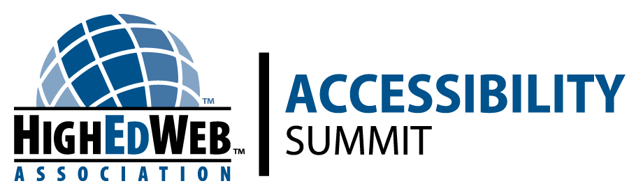 HighEdWeb 2020 Accessibility Summit