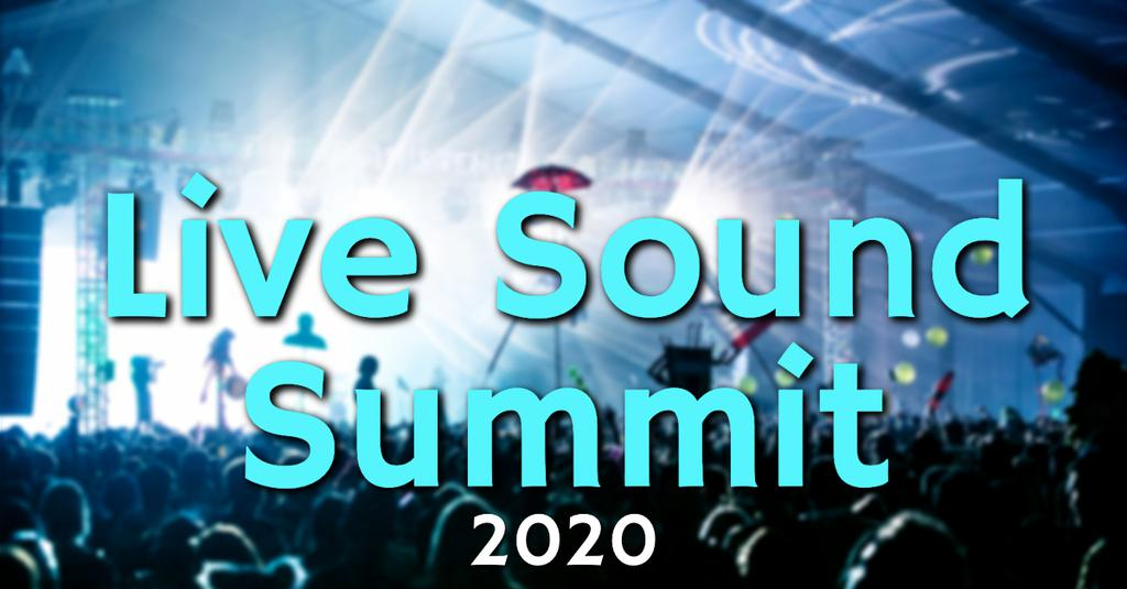 Live Sound Summit 2020