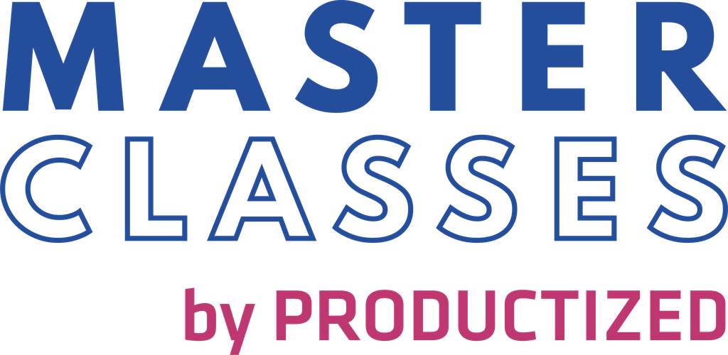 Productized Masterclasses