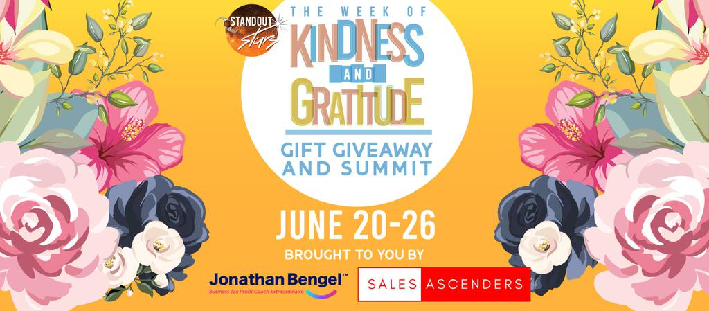 Standout Stars Week of Kindness and Gratitude Gift Giveaway Spring