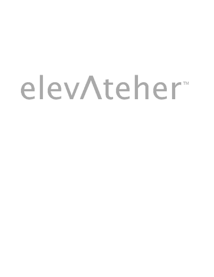 The elevAteher Summit