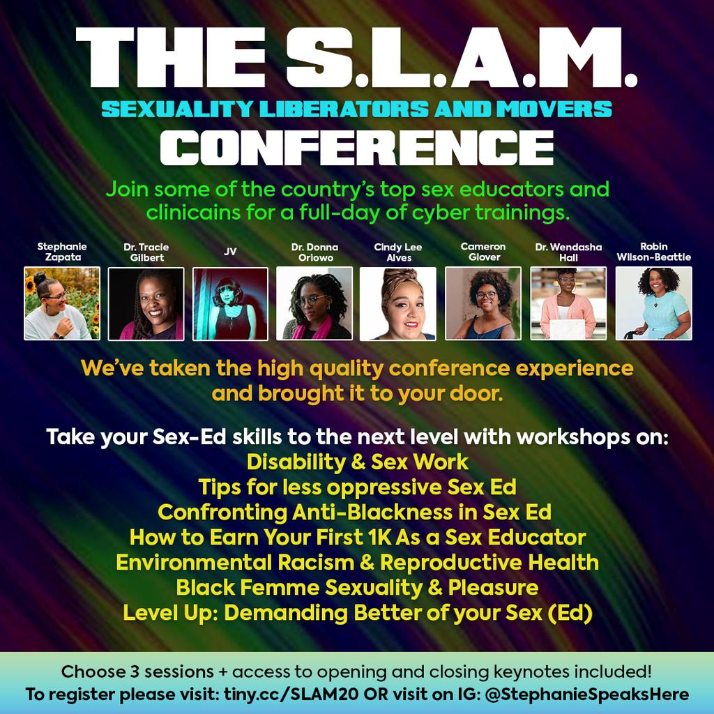 The S.L.A.M. (Sexuality Liberators And Movers) Conference