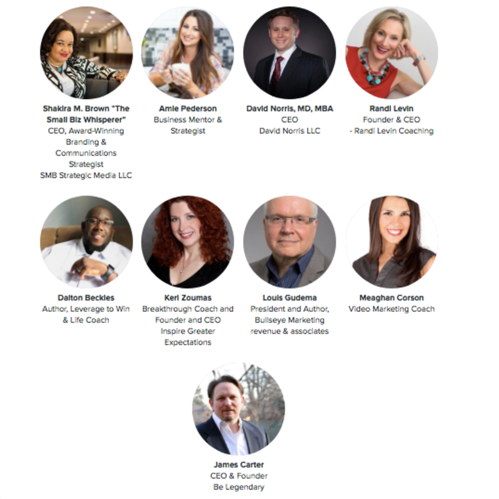 Check out the 2018 Growth & Success Con Speakers