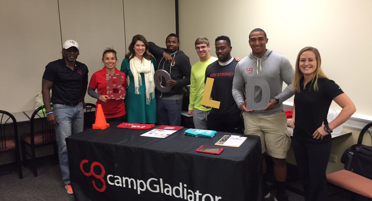Meredith college vendor photo 10   camp gladiator