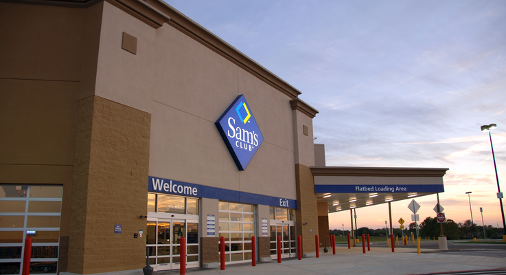 The exterior of a sams club location thumb 1jpg