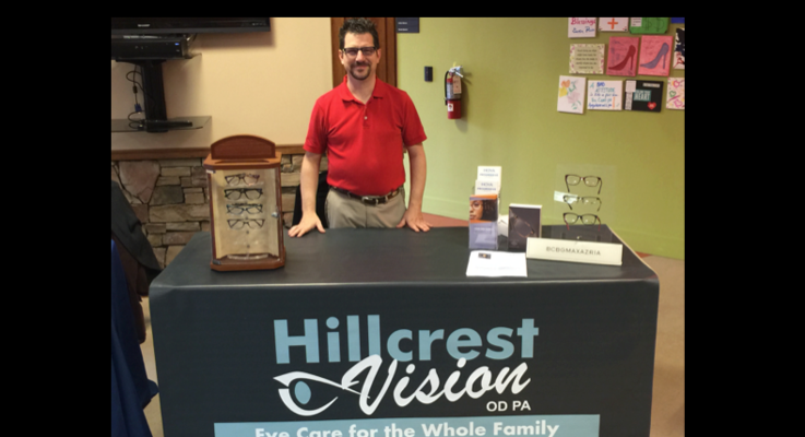 Hillcrest vision booth photo