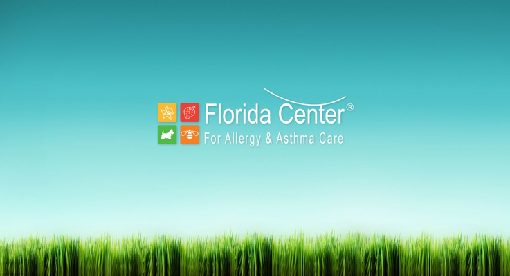 Florida center for allergy booth photo
