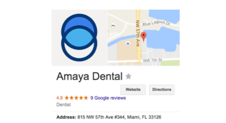 Amaya dental booth photos