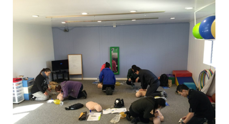 First support cpr booth photo