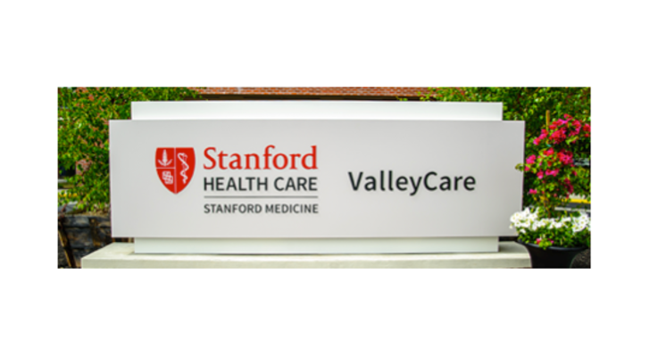 Stanford healthcare valleycare booth photo