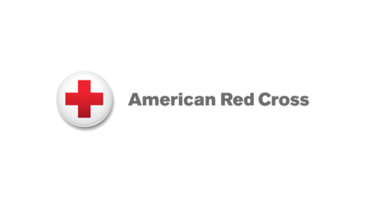 American red cross booth photo