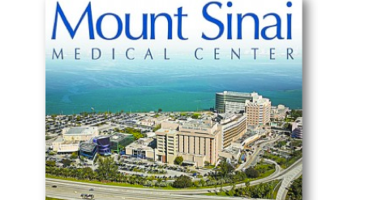 Mount siani medical center booth photo