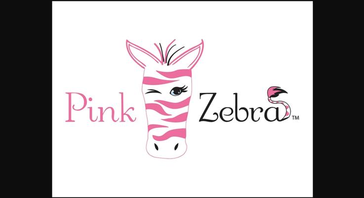 Pink zebra booth photo