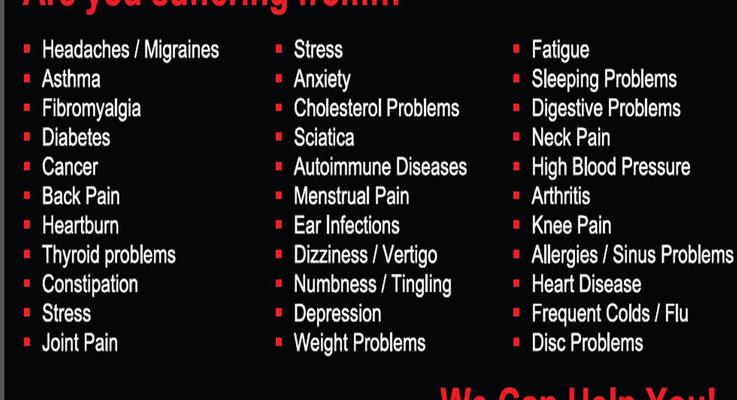 Symptoms banner