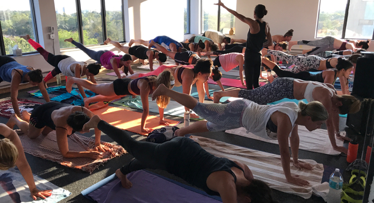 Hot pilates kelly yoga house miami