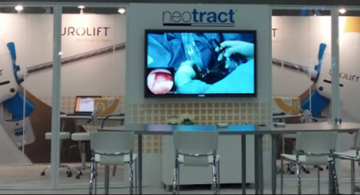 Neotract booth