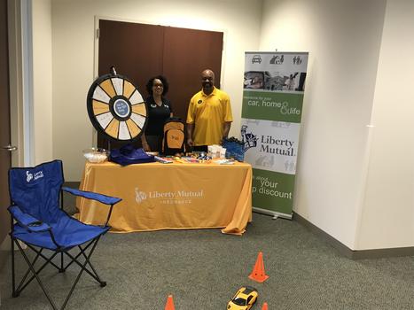 Liberty Mutual Attending A Corporate Employee Health Fair