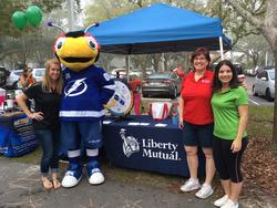 Liberty mutual health fair booth 2