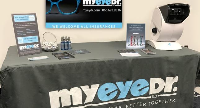 MyEyeDr. Vendor Table