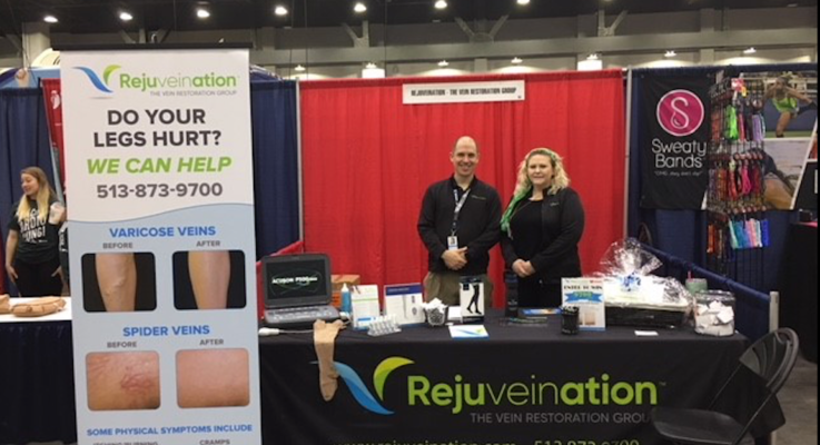 Rejuveination health fair booth 1
